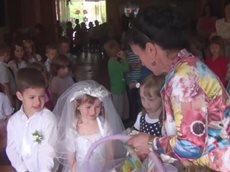Детская свадьба